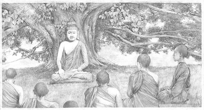 Life of historical Buddha.